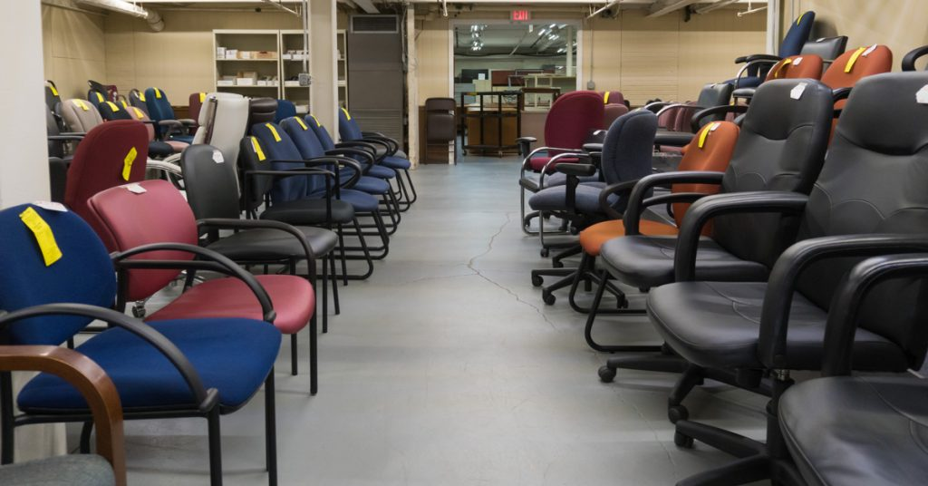 preowned office chairs