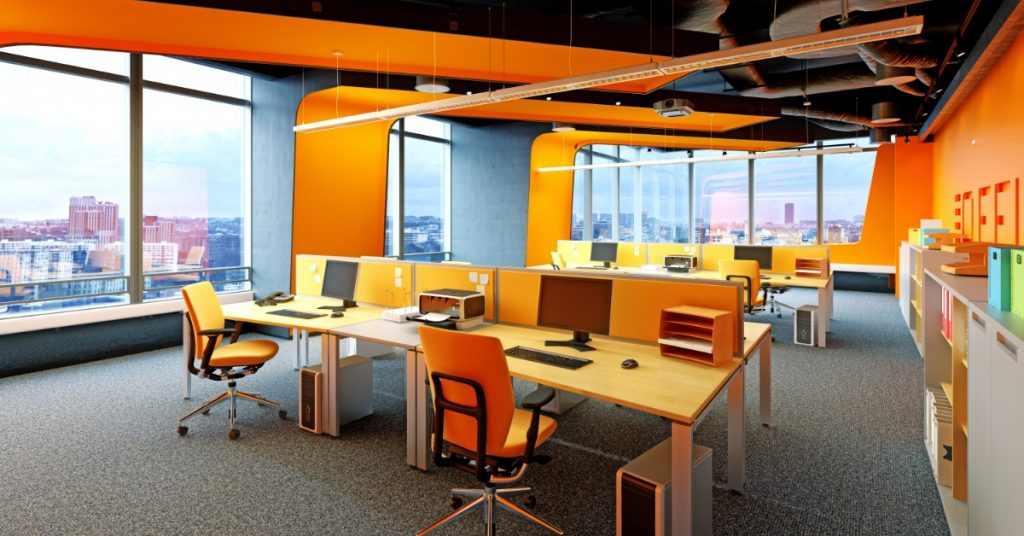 choosing office furniture color