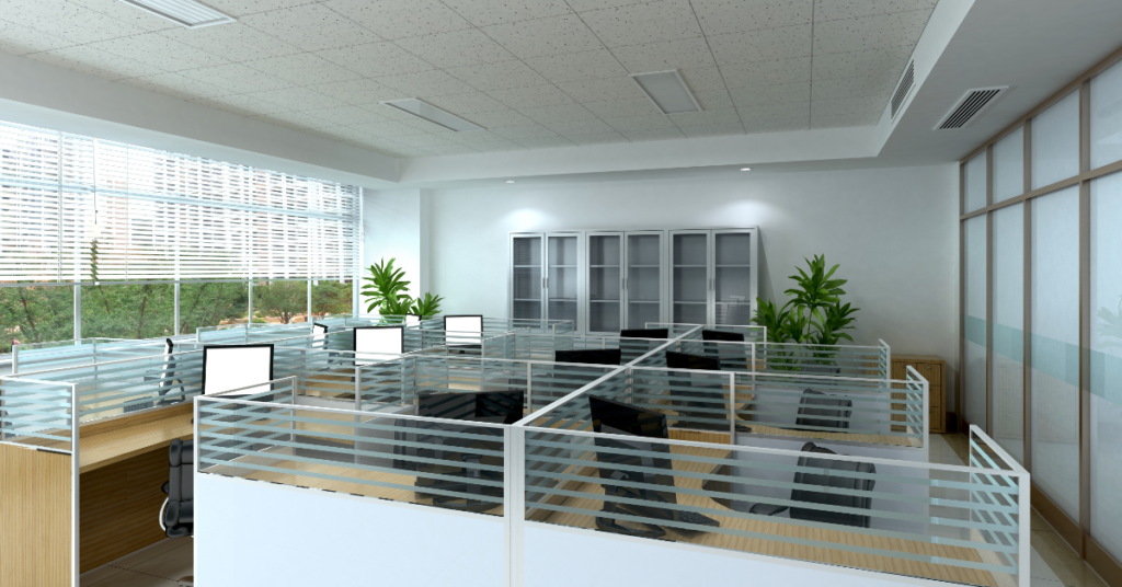 The modern office cubicle is making a comeback!